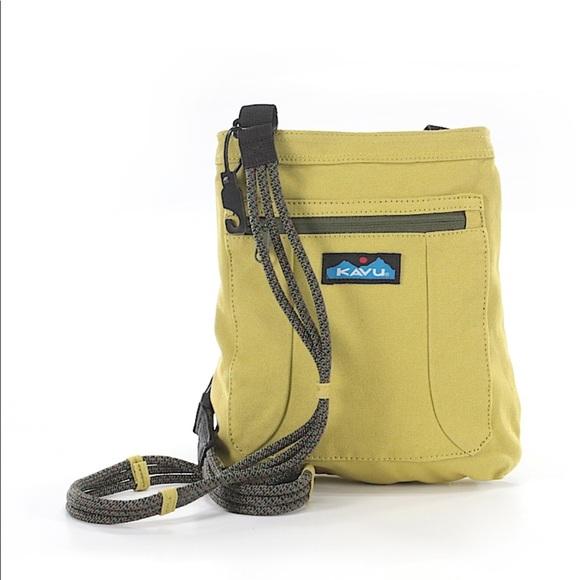Kavu Handbags - Yellow Kavu Crossbody Bag